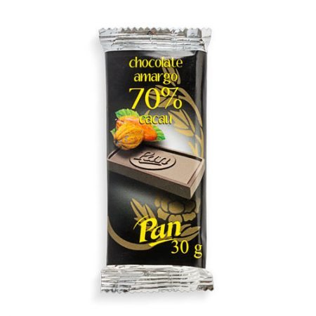 Tablete Chocolate Amargo 70% Cacau 30g